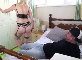 This British mature lady loves fucking and..
