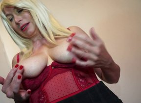 Horny British housewife getting nasty in all..