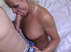 Horny mature lady fucking with the addition of..