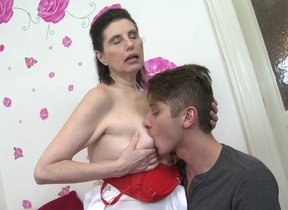 Naughty full-grown lady fucked by will not hear..