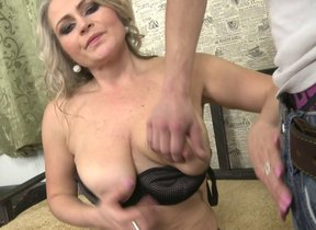 Hot MILF gets well-found in pov style