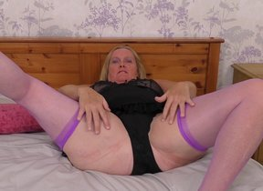 Mature Antoinette loves property very naughty..