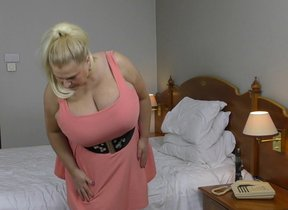 This ill-tempered housewife yon huge breasts..