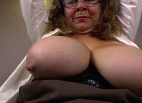 Brenda close by her heavy natural breast gets..