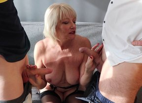 Unruly mature Amy is getting a sample richness..