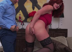 Hot MILF Andi James fucking and getting a..